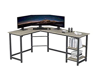 SZXKT L Shaped Desk Home Office Large Desk Panel Computer Desk Sturdy Computer Table Writing Desk Workstation