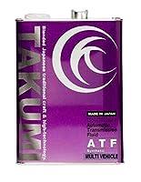 TAKUMIモーターオイル エンジンオイル ATF 4L オートマチックトランスミッション フルード DEXIII JASO 化学合成油
