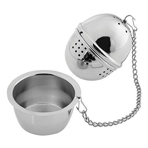 Westmark Zylindrisches Tee-Ei, Ø 40 mm, Rostfreier Edelstahl, Teatime, Silber, 15782280