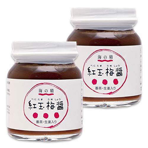 紅玉梅醤 番茶・生姜入り 130g ×2個        JANコード:4931915000938