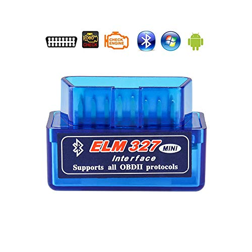 Elm327 Launchh OBD2 Professional Bluetooth Scan Tool and Code Reader for Android,ELM327 V2.1 Interface OBDII OBD2,Car Auto Diagnostic Scanner,Not Support J1850 VPW and J1850 PWM Communication Protocol