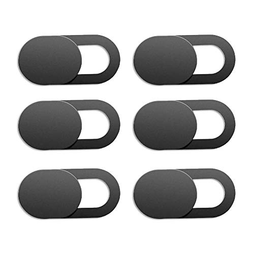 Webcam Abdeckung, ultradünner Sichtschutz, 6er Pack ultradünne Laptop Kamera Abdeckung, Slide Blocker für Computer, MacBook Pro, iMac,Handy,PC,Tablet,Notebook, Surface Pro Echo Show Kamera-Blocker