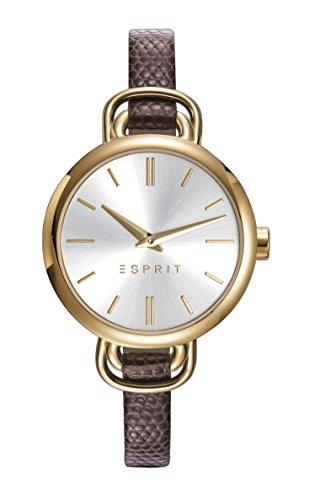 ESPRIT Damen Analog Quarz Uhr mit Leder Armband ES109542002