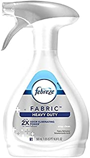 2PK。Febreze Fabric Refresher Heavy Duty Crisp Clean Air Freshener 16.9FL。Oz