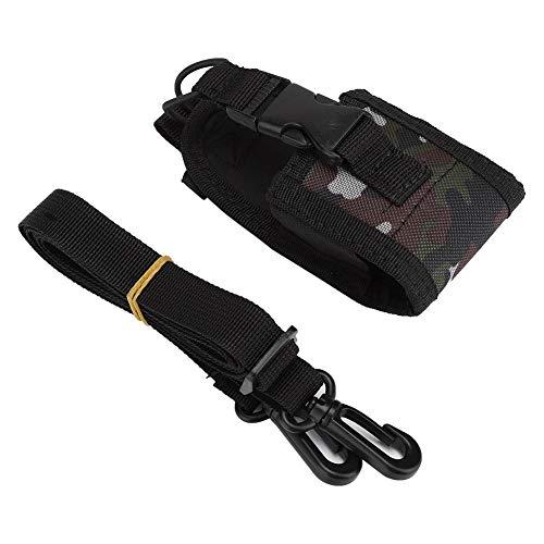 Radiotas, radiohouder Nylon draagtas Draagbare portofoon Riemetui Beschermende tashouder Radiotas + riem Geschikt voor Kenwood