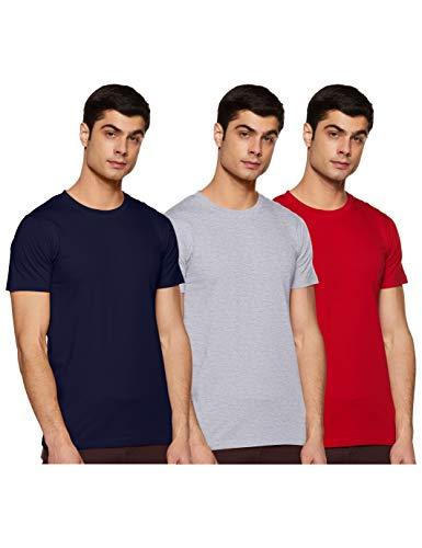 Chromozome Men's Plain Regular Fit T-Shirt