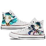 CEATLYRING Zapatillas De Lona Genshin Impact Xiao,Deporte Zapatos Anime Unisex Cosplay Impreso Casual Cómodo Moda Shoes China 34-45