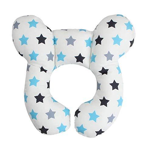 YIWOYI Cojín de lactancia en forma de U para bebé con forma de U (estrella)