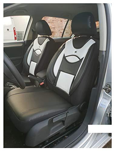 Fundas de asiento compatibles con Ssangyong Tivoli conductor y copiloto a partir de 2015 FB:D108