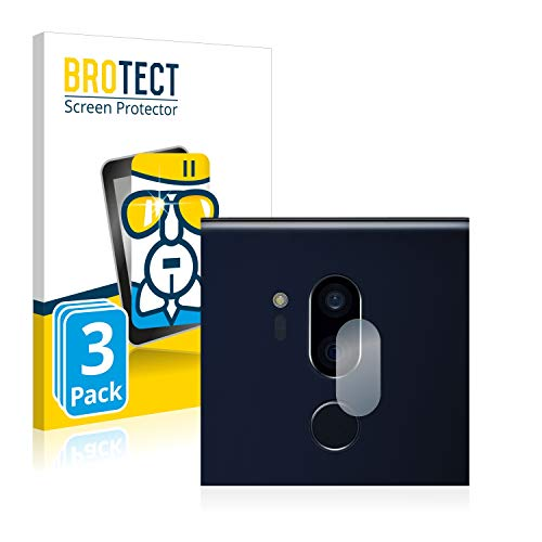 BROTECT Panzerglas Schutzfolie kompatibel mit LG G7 ThinQ (NUR Kamera) (3 Stück) - 9H Extrem Kratzfest, Anti-Fingerprint, Ultra-Transparent