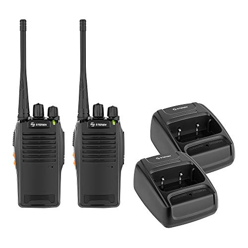 STEREN Kit de 2 radios intercomunicadores