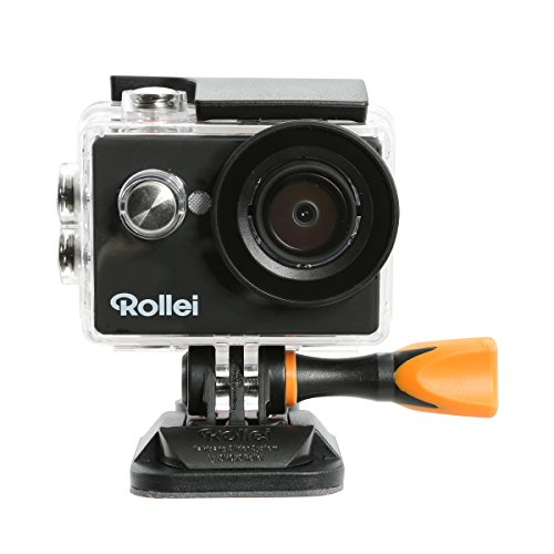Rollei Action Cam 415 (Full HD Video Funktion 1080p, Unterwassergehäuse für bis zu 40m Wassertiefe) schwarz