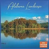 Alabama Landscape Calendar 2022: Official US State Alabama Calendar 2022, 16 Month Calendar 2022