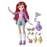 Disney Princess Comfy Squad - Muñeca Ariel Estilo de azúcar con Traje y Accesorios inspirados en la Fiebre del azúcar, Juguete para niñas de 5 años en adelante