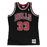 Mitchell & Ness Scottie Pippen Chicago Bulls Men's Black 1997-98 HWC Swingman Jersey (XX-Large)
