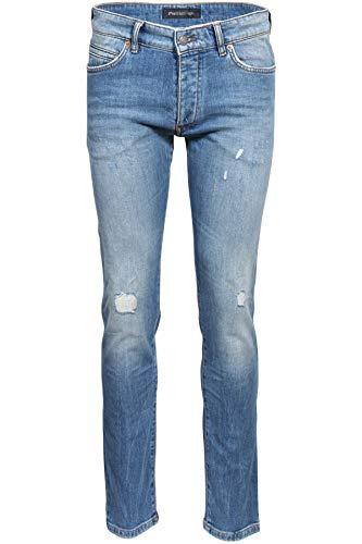 Drykorn Herren Jeans Jaz mit Destroyed-Effekten blau 31W / 34L