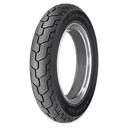 Dunlop Harley-Davidson D402 Rear Motorcycle Tire MT90B-16 (74H) Black Wall - Fits: -