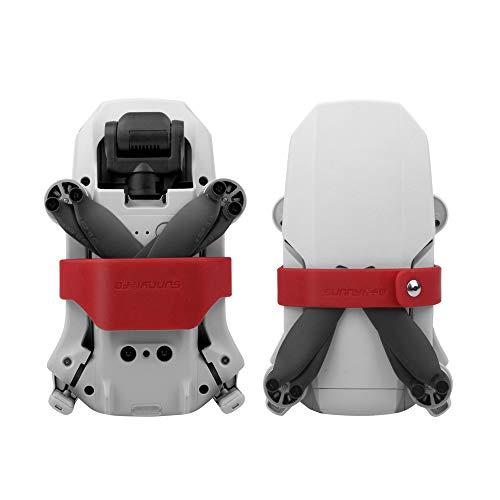 Linghuang Propeller Halter Schutz Fixierer für DJI Mavic Mini Zubehör Propeller Blatt Stabilisator Transportschutz Propellerschutz (rot)