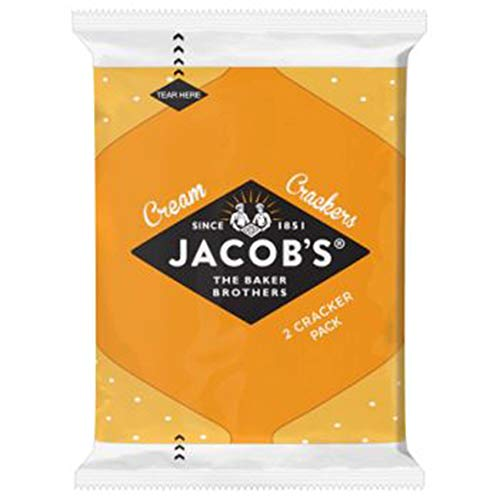 Jacobs Cream Crackers Mini Packs - Pack Size = 168x2