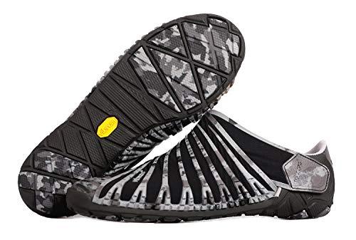 Fivefingers Vibram Furoshiki EVO - Zapatillas (talla 41), color gris y negro