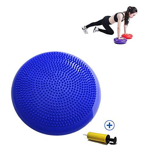 Yoga Balance Cushion, Balance Disc Opblaasbare Massage Kussen, Verdikte Explosiebeveiligde Yoga Balance Ball, Balans Training Device