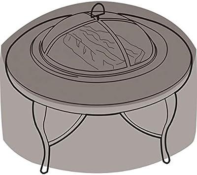 Girlande silber Abdeckung für Feuerschale, groß (Ø84cm)