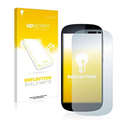 upscreen Entspiegelungs-Schutzfolie kompatibel mit Yota Devices YotaPhone 2 – Anti-Reflex Bildschirmschutz-Folie Matt