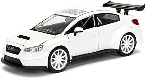 venta directa de fábrica Jada 1 24 Fast & Furious Die-Cast Die-Cast Die-Cast Mr.Little Nobody's Subaru WRX STI Car Model Collection  grandes ahorros