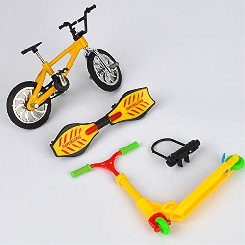 Finger Scooter Bike, Mini Scooter Dos Ruedas Scooter Niños Juguetes Educativos Dedo Scooter Bicicleta