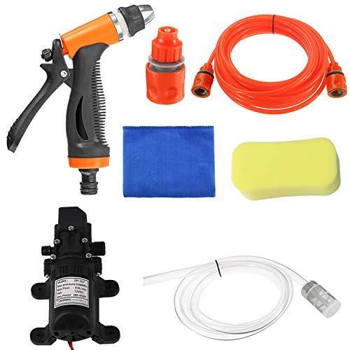 SLZDQNN Kit de herramientas de lavado de la bomba de lavado a presión Lavadoras de limpieza de coche eléctrico del cuidado de coche Wash Car
