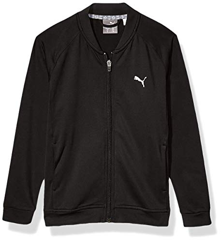 PUMA Jungen 2019 Full Zip Jacket Jacke, Black, X-Small
