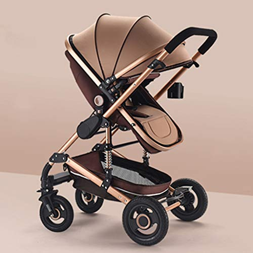 Why Choose JIAX Baby Stroller Carriage 360 Rotation 2-in-1 Shock-Resistant High Landscape Luxury Pra...