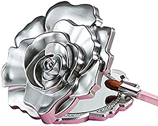 Fashioncraft, Wedding Party Bridal Shower Favors, Realistic Rose Design Mirror Compacts, Set of 40