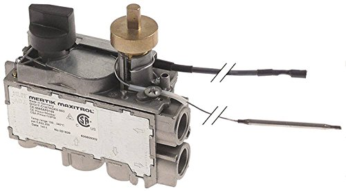 MERTIK GV31T-C1A7AGK0-003 Gasthermostat für Electrolux 178207, 178208, 178209, 178210, 178807 max. Temperatur 340°C 100-340°C