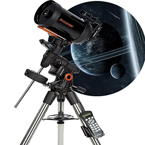 QQ HAO Intelligent Computergesteuertes Teleskop Mit Großer Öffnung, Hochleistungs-Hochauflösender Tiefspeicher-Professioneller Stargazing-Astronomisches Teleskop