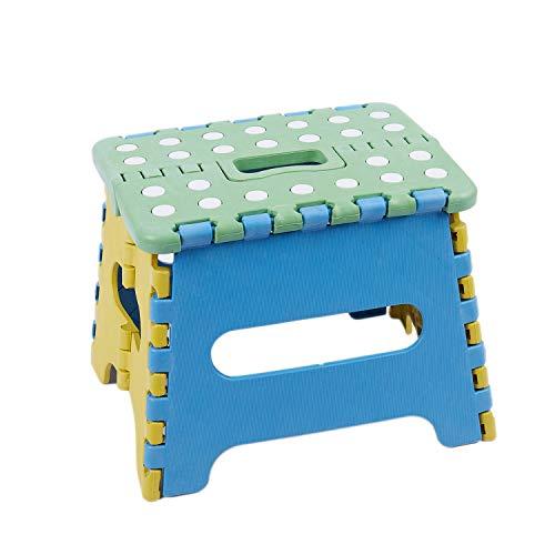 Tamkyo Klapphocker Klappsitz Klapptritt 22 x 17 x 18cm Kunststoff bis 150 Kg faltbar