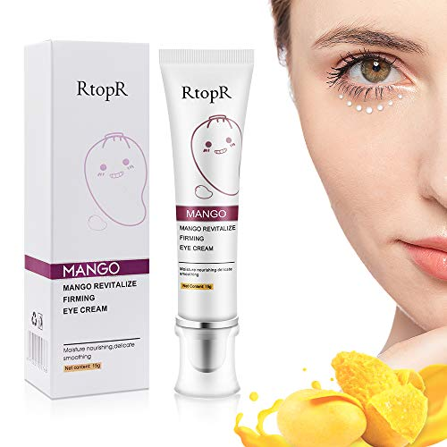 Crema de Ojos,Crema para los Ojos,Contorno de Ojos Anti arrugas, Anti Edad Eye Cream Para Ojeras,Bolsas,Patas de Gallo e Hinchazón