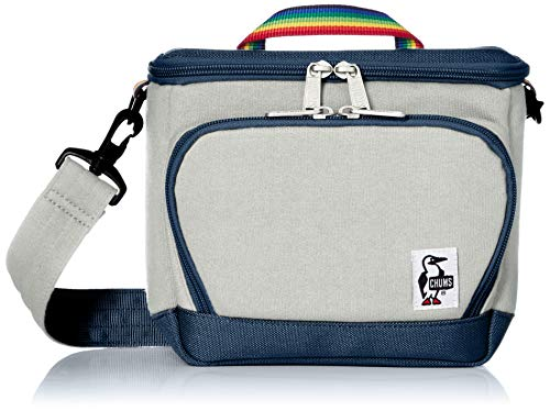 [チャムス] カメラバッグ Box Camera Bag Sweat Nylon H-Gray/Basic Navy