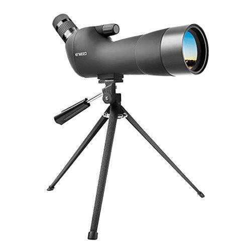 Enkeeo 20-60x60AE Telescopio Monocular con Trípode Anguloso Impermeable (Lente...