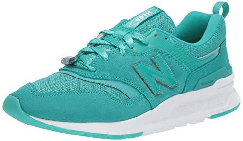 New Balance Damen Cw997hv1 d Sneaker, Grün (Green/White Green/White), 40.5 EU