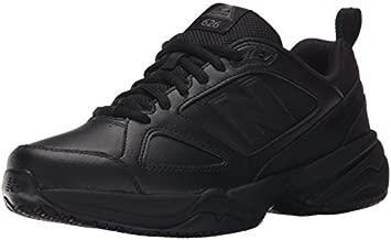 New Balance Women's Slip Resistant 626 V2 Industrial Shoe, Black, 7 M US