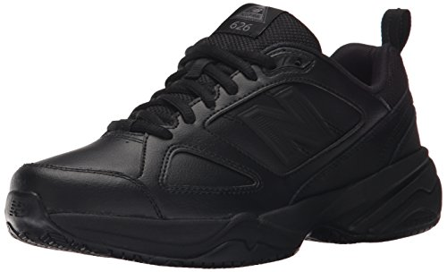 New Balance Women's Slip Resistant 626 V2 Industrial Shoe, Black, 6.5 W US
