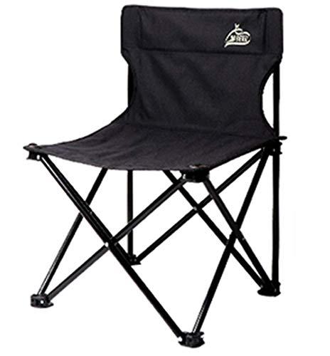 YLCJ klapstoel voor rolstoel, inklapbaar, voor de vrije tijd Libero JINRONG (kleur: bruin) zwart.