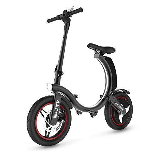 Alvoron Zero - Patinete eléctrico plegable para adultos, 25 km/h, batería de...