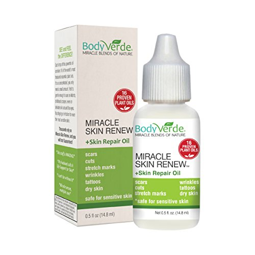 BodyVerde 100% Natural Miracle Skin Renew (Incredible multipurpose serum to support rapid skin healing in children and adults)