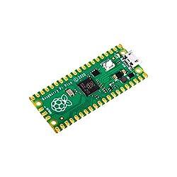 Raspberry Pi Pico Raspberry Pi RP2040デュアルコアARMCortex M0 +プロセッサをベースにしたフレキシブルマイクロコントローラーボード