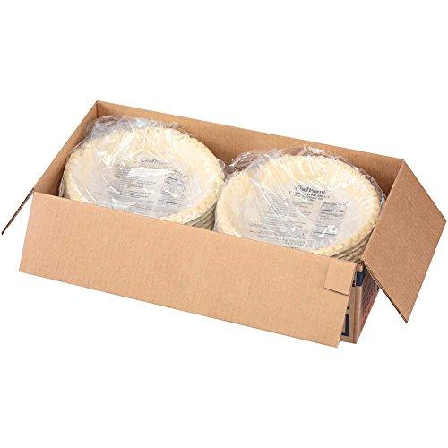 Sara Lee Chef Pierre Unbaked Vegetable Shortening Pie Shell, 9 inch -- 20 per case.