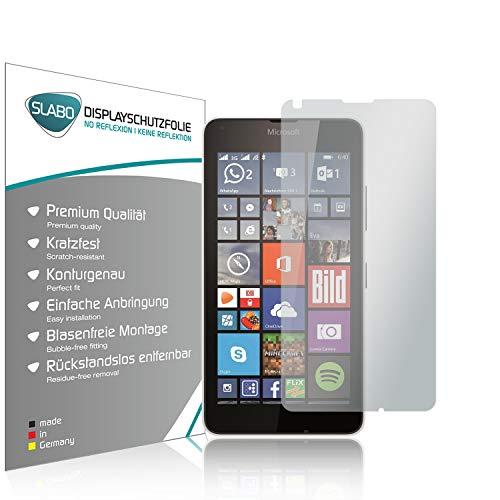 Slabo 4 x Bildschirmschutzfolie für Microsoft Lumia 640/640 Dual-SIM Bildschirmfolie Schutzfolie Folie Zubehör No Reflexion MATT