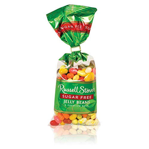 Russell Stover Sugar Free Jelly Beans, 7 Ounce Bag (Pack of 4)