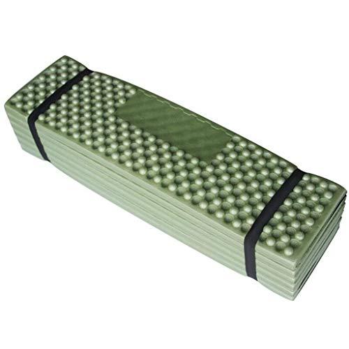Yushu Cojín plegable para asiento de camping, senderismo, picnic, a prueba de humedad, para sentarse, peso ligero, portátil, fácil de llevar